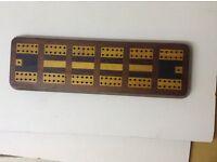 Cribbage score board