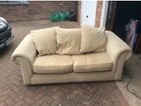Second hand 2 seater sofa bed. Would suit for extra sleeping requirements.