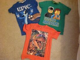 Lovely bundle of boys clothes Mini Bowden and Next from age 7-11. VGC.