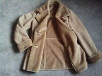 Artiganio ladies sheepskin coat as new