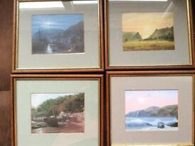 Painting prints Lynmouth and Lynton