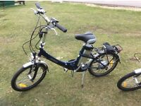 Two Batribikes Breeze Fold up Electric bikes