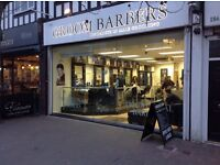 BARBERS REQUIRED IN BUSY HIGH STREET BARBERS.. Full and part time positions available .