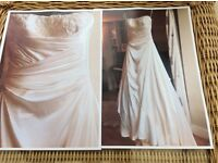 'Reduced'Alan Hannah Ivory 'candice' wedding dress