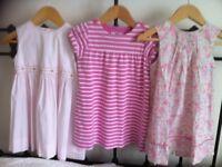 3 summer dresses (Jacadi & Bonpoint), size 2 & 3 years