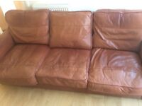 FREE LEATHER SOFA Very comfortable