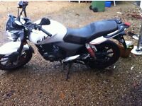 Bargain, very cheap 125cc motorbike. Perfect bike no problems, great xmas present or as first bike