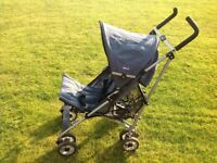 Chicco Recling Stroller Buggy and Fleece Footmuff