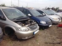 1998 1999 2000 2001 2002 2003 2004 2005 2006 2007 2008 2009 Chrysler Grand Voyager Breaking All Part