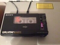 Sony tape deck . ( . No offers . ) . . . . . . . may px