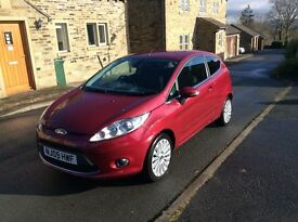 FORD FIESTA 1.4 TITANIUM 1 LADY OWNER FROM NEW ,MOT TILL MARCH 2018