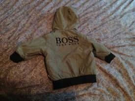 Boys Hugo boss jacket age3-6 month