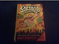 Captain Underpants books x 4 Box set