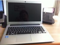 "Acer Aspire V5(471) laptop 14"" Core i3 -2365 , 4Gb ram , 500Gb hdd, + box"