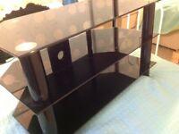 Three shelf television stand