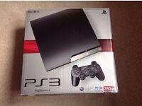 AS NEW - Sony Playstation 3 Slim, 250 GB.