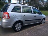 Vauxhall zafira life cdti ecoflex 2011 7 seater