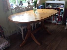 Solid wood extendable dining table no chairs £100 ono