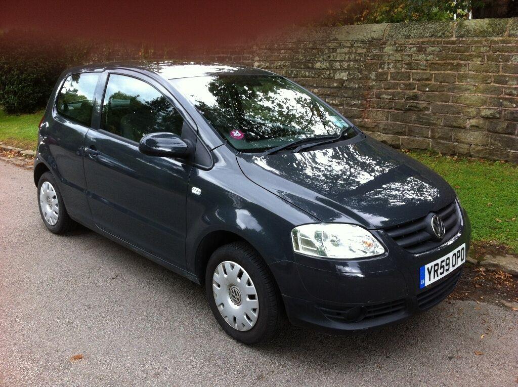 dark grey vw fox 1 2 litre petrol engine excellent. Black Bedroom Furniture Sets. Home Design Ideas