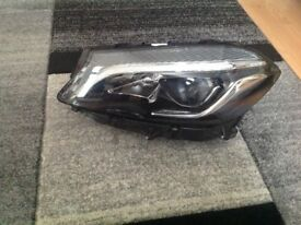 Mercedes A Class headlight xenon headlamp high led performance 176