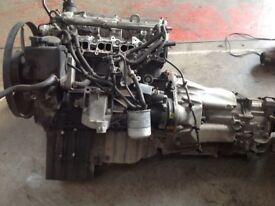 Mercedes sprinter 2.1 Diesel engine and gearbox