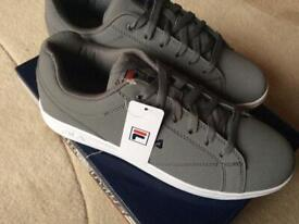 FILA TEXTILE TRAINERS GREY SIZE 7/41 BRAND NEW IN BOX MAKE AN OFFER