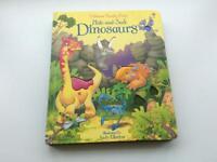 Hide and seek dinosaurs book