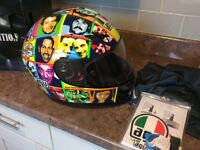 Valentino Rossi gp tech limited edition faces helmet size 60