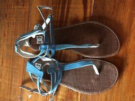 Ladies DC sandals size 7