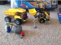 Lego City Loader and Tipper Set