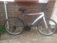 Mans Excel 18 Speed Mountain Bike