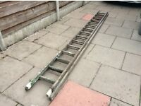 Two wooden ladders ( Now Free) You Collect