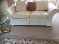 Cream sofa as new
