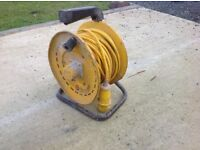 Yellow 110v reel for sale!