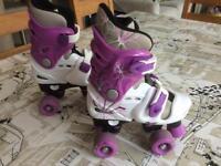 Osprey girls adjustable roller skates
