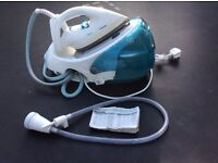 Tefal Pro Protect Steam Generator Iron in need of repair or for spares.... Does not always steam.