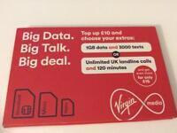 Virgin mobile top up £10 pick up prefer Leeds sealed