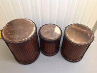 African dun dun drums