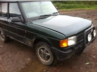 Land Rover discovery for sale spares or repair
