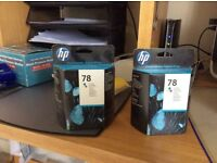 Original HP 78 and HP 364 ink cartridges for sale
