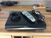 Sky + HD box 500gb storage with remote and leads