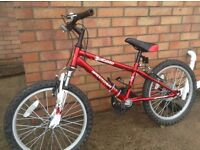 Dawes Barrosa Diablo mountain bike - suitable for ages 6-9 year olds