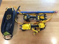 Grivel G10 Crampons & Munro Ice Axe