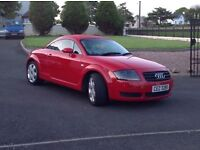 2002 Audi TT 1.8 T Quattro +++++ a real head turner +++++