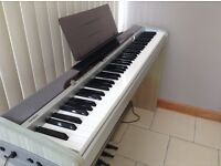 Casio PX200 digital piano with stand