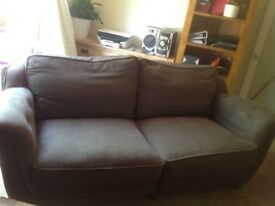 Big 2 seater sofa and one armchair