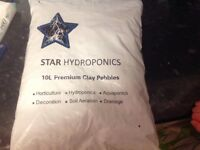Star hydroponics premium clay pebbles