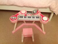 ELC child's piano, excellent condition, only been played with by one granddaughter