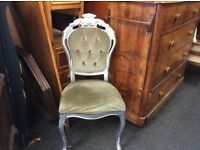 Vintage French style dressing table chair