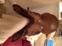 Idea GP saddle 17.5 inch medium fit.